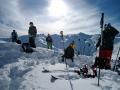 Tirol-Freeride-Pause
