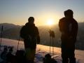 sunrise splitboard tour zillertal austria