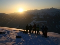 Splitboarding Sunrisetour
