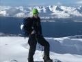 Splitboarding Lyngen alps