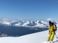 arctic lyngen alps freeride ski