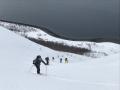 ascent lyngen Norwegen