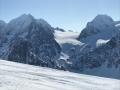 north peninsula lyngen glacier