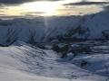 Gudauri Kaukasus Mountain Range