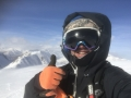 Jürgen Haider snowboarding