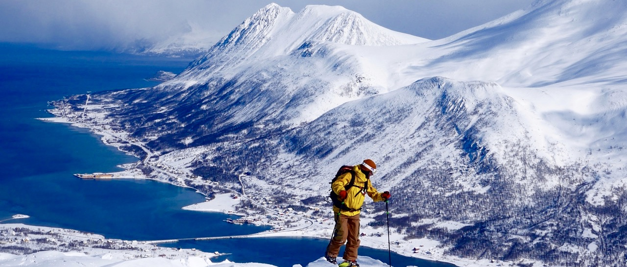splitboard camp lyngen