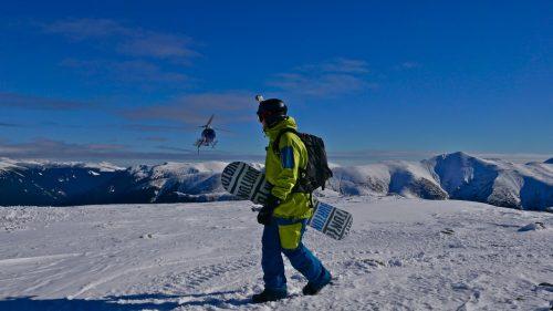 heliboarding Karpaten