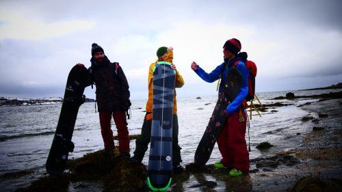 amplid creamer splitboard lyngen alps