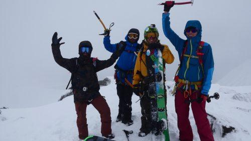 eisaxt snowboardtour