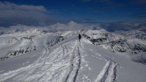Gipfel Lyngen alpen