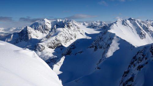 nordhalbinsel lyngen alpen