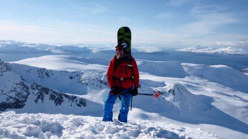 summit lyngen mountains