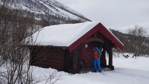 split board lodge lyngen alpen norwegen