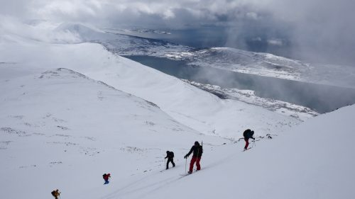 splitboard tour lyngen alps