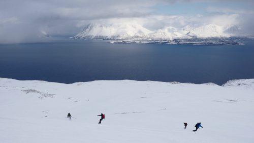 summit to sea lyngen splitboarding