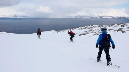 summit to sea snowboard run