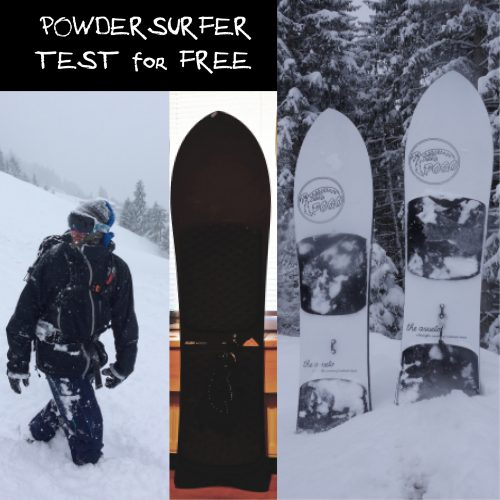 Powdersurfer Zillertal Rent for Free