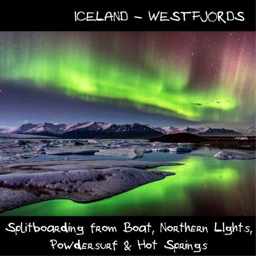 Iceland splitboarding