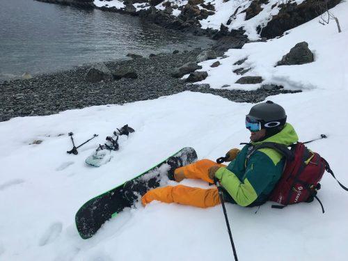 arctic snowboarding