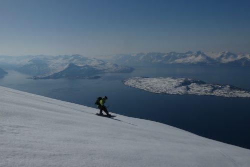snowboard abfahrt
