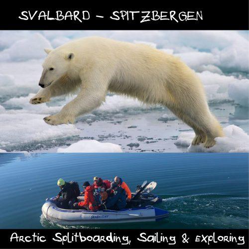 svalbard splitboarding trip