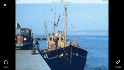 comrades fishing trawler
