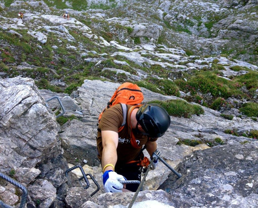 Klettersteig Levels : Klettersteige u backyard snowboarding freeride guide