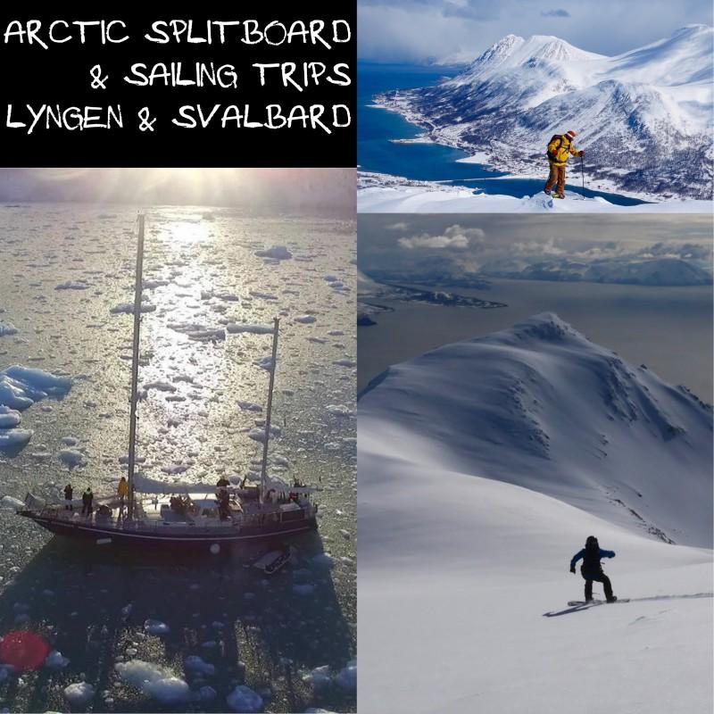 Svalbard Lyngen Splitboard Sailing Trip