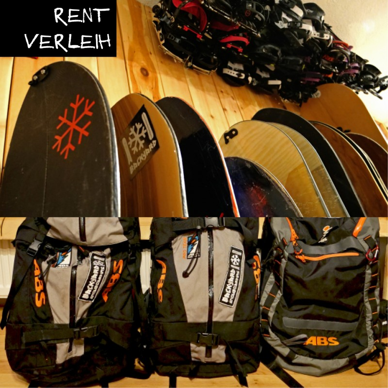 Splitboard Rent