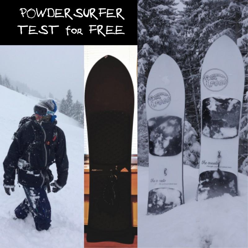 Powdersurfer Zillertal Rent for Free